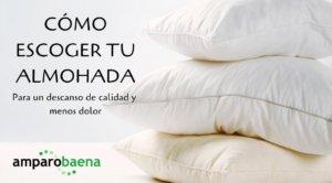 cómo escoger tu almohada